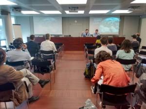 Fotografia del dia de la presentació. FONT: Fundació Mar